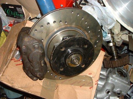 Mk2 Escort 285mm Front Brake Conversion