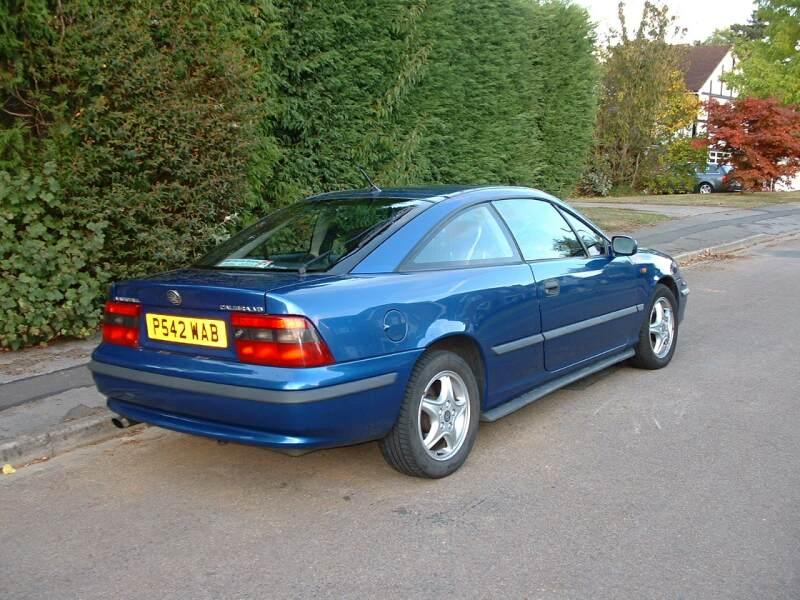0 Apr Car >> 97P Vauxhall Calibra V6