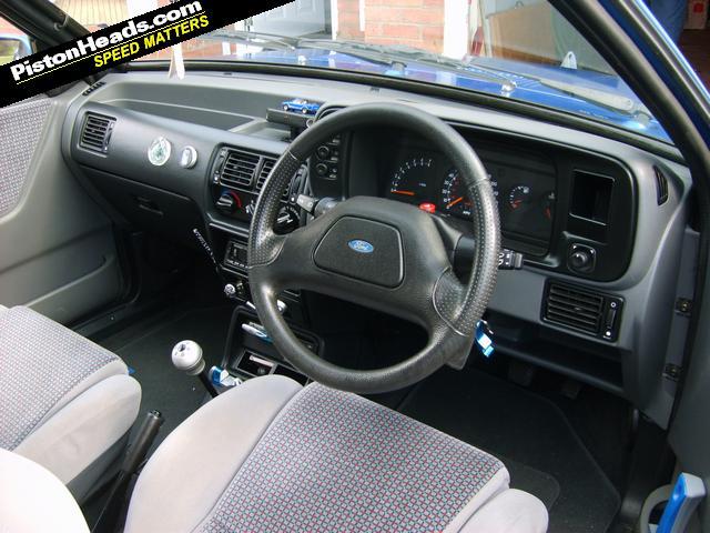 Ford Escort Xr3i Cabriolet Azure Blue