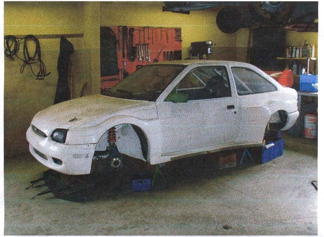 Martin Schanke Body For Ford Escort Rs 2000 In Kevlar