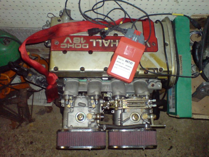 Vauxhall XE engine MBE Weber 45's etc