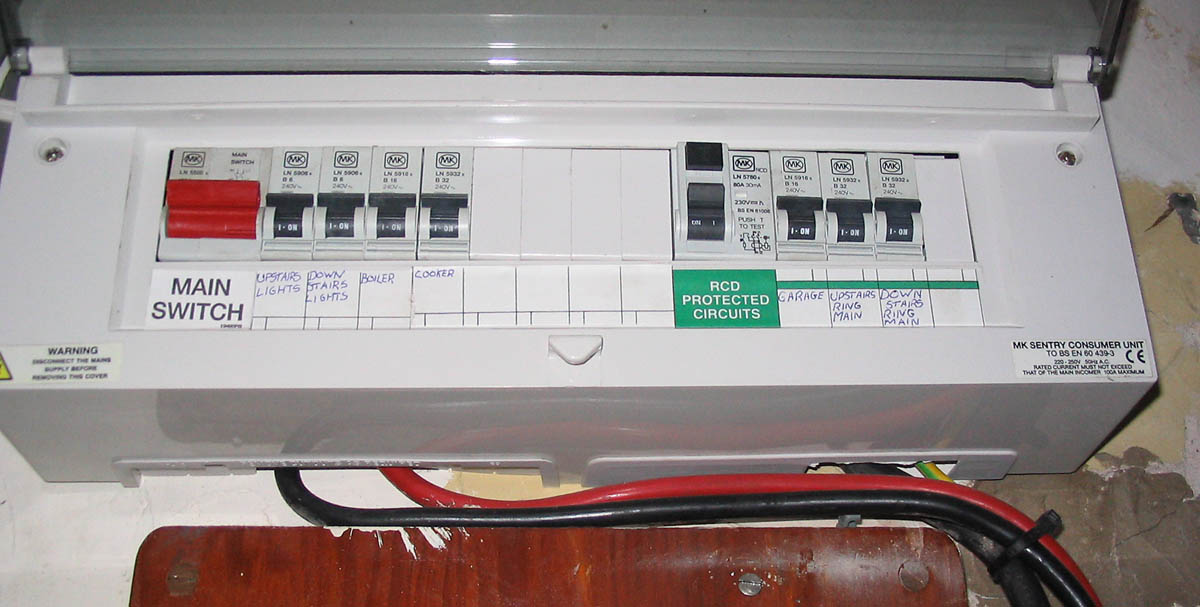 Fuse Box Rcd Switch : Switch box fuse wiring diagram images