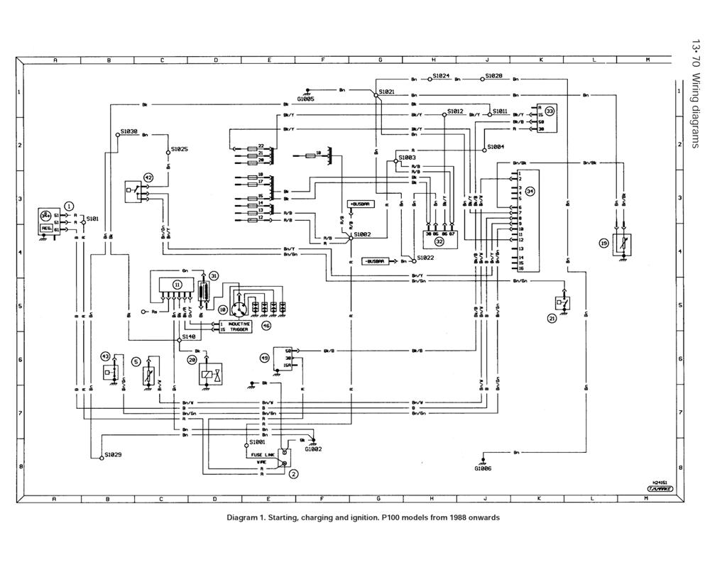 1997 ford escort alternator wiring diagram