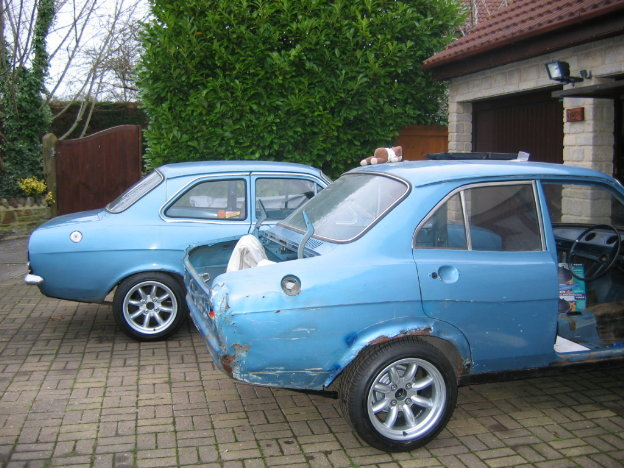 Ford Escort Mk1 4 Door Shell Sold