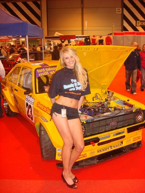 Craig Rainer S Mk2 Escort At Autosport Show