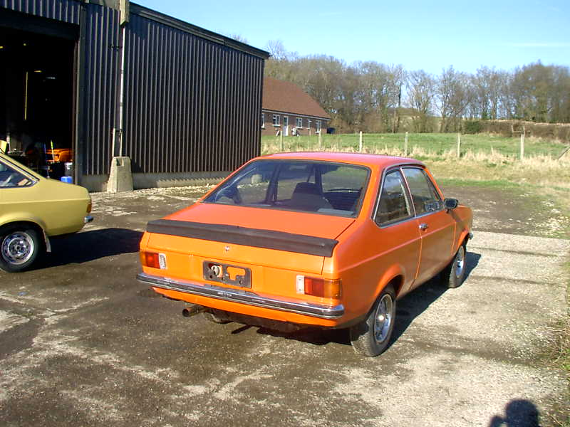 Ford Escort mk2...Austrailian import. (Sold)
