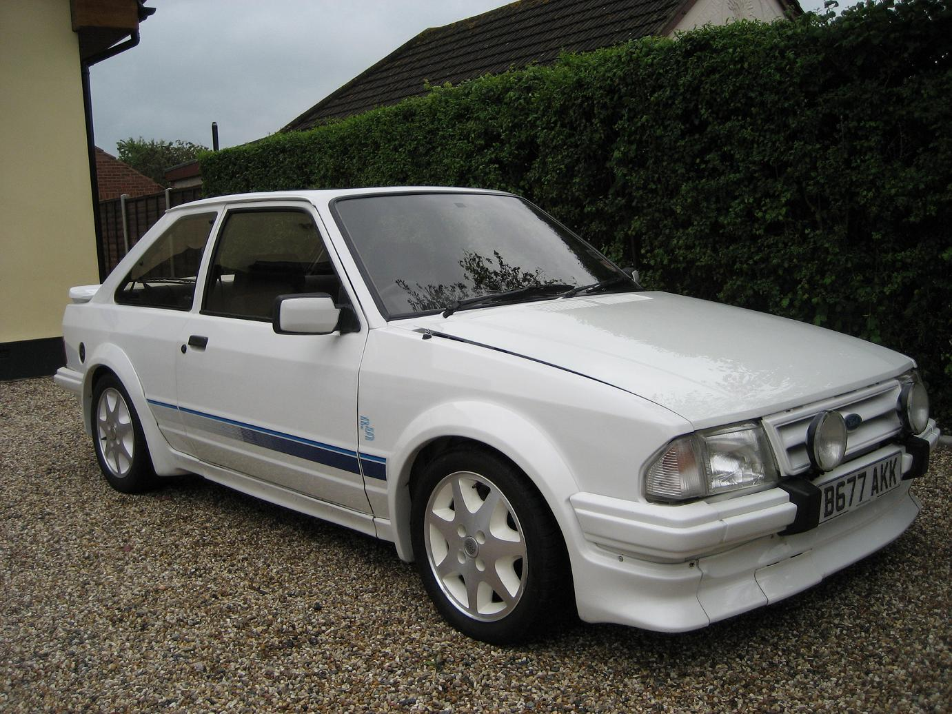 series one Ford escort RS